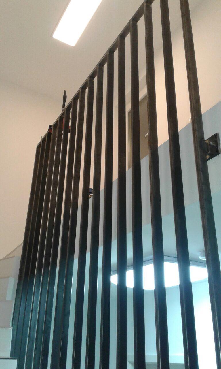 Bartels Metallbau Treppenharfe Stahl